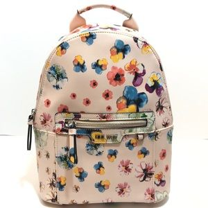 Nine west floral print backpack
